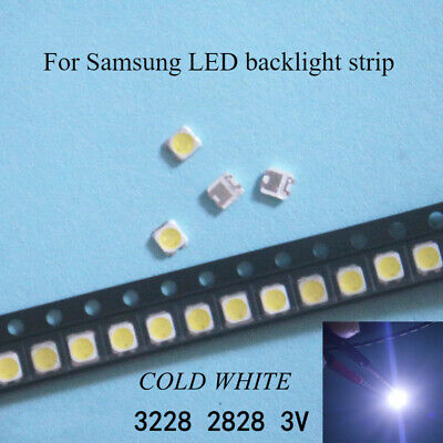 LED BACKLIGHT SAMSUNG 100pcs 2828 TT321A 1 5W-3W with Zener