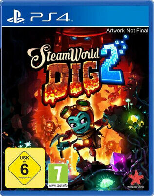 Steamworld Dig 2 (PlayStation 4) (Software) NEU