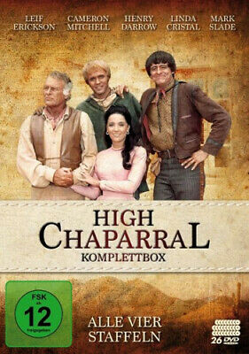 High Chaparral - Komplettbox: Alle vier Staffeln (26 Discs) (Film) NEU
