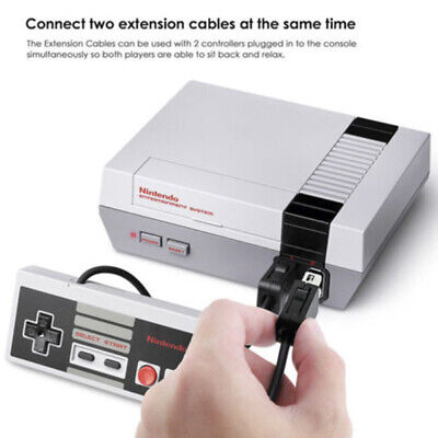 1/2pcs 3M Extension Cable For Nintendo Mini Classic Game Controller Gamepad new