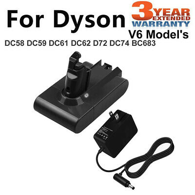 For Dyson ANIMAL Battery Charger V6 DC58 DC59 DC61 DC62 SV04 SV05 SV06 SV07 GOOD