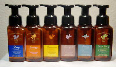 Bath and Body Works Handsoap 6-er Pack ESSENTIAL AROMATHERAPY Schaumseife