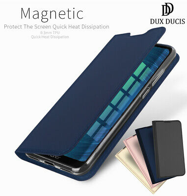 DD For Huawei Honor 8A PU Leather Flip Case Wallet Magnetic Skin Stand Cover