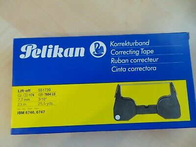 Pelikan Korrekturband Lift-off Gr. 174, 551739, 7,7 mm 23 M, IBM 6746, 6747