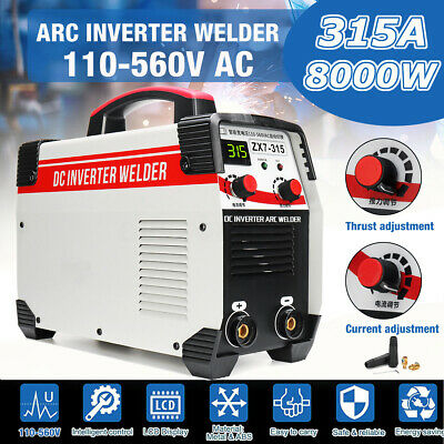 MMA Digital Stick Welder 315A ARC Force IGBT Welding Inverter Machine 220V DC