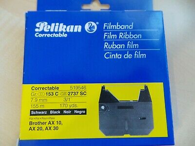 Filmband Pelikan Correctable 519546 Gr. 153 C, 7,9 mm, 155 mm, schwarz Brother A