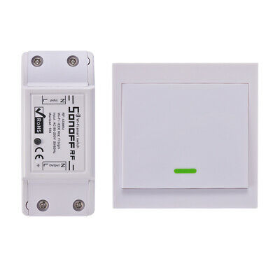 SONOFF RF WiFi Smart Switch + bouton poussoir télécommande 1pc / 2pcs