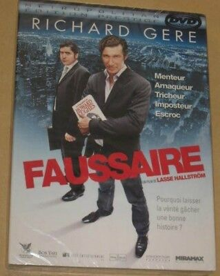 "New DVD Film ""FAUSSAIRE"" (R. Gere, A. Molina, M. Gay Harden) [NEUF SOUS CELLO!!]"