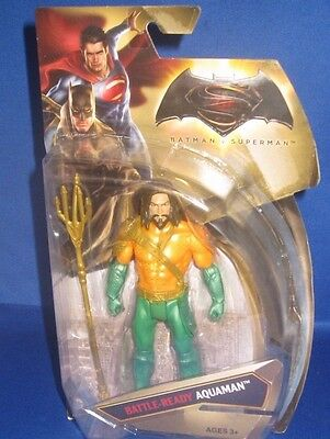 Dc Universe Comics Battle Ready Aquaman Batman V Superman Collezionista