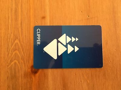 San Francisco Bay Area Clipper Card with 7$ Credit. Valid for MUNI, BART, etc