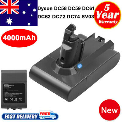 FOR DYSON V6 ANIMAL Replace BATTERY DC61,DC62,DC72,DC74,V6 DC58,DC59 Absolute HH