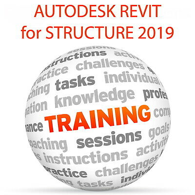 Autodesk REVIT for STRUCTURE 2019 (imperial) - Video Training Tutorial DVD