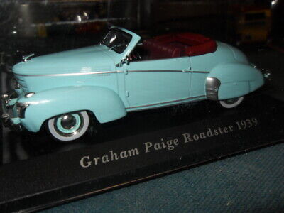 Graham Paige Roadster 1939   / 1/43 / Tof 10