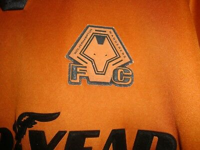 Wolverhampton Wanderers Home football shirt 2000 - 2002 size L