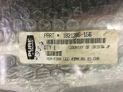 *New Old Stock* Genuine Victory R/H Fork Assy - Fits Cruiser Models 1821286-156