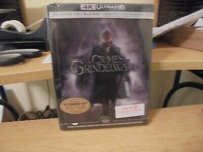 4K Ultra HD +Blu Ray +Digital  Fantastic Beasts and the Crimes of Grindelwald (