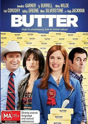 Butter (DVD, 2013) // Ex-Rental // No Cover // Disc & Case only
