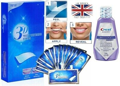 Professional Advanced Teeth Whitening Home Tooth Bleaching 28 Strips White