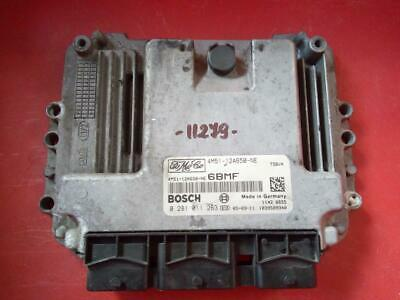 Ford Focus 1.6  TDCi ECU 0281011263 - 4M51-12A650-NE /Programming/FastCourier