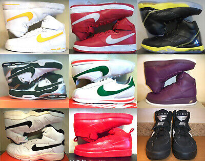 New! Nike! Air Force 1 ! Gamma Flight! Sheer Force Mid! Shox Elite !