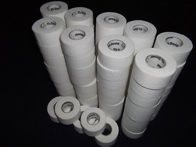 """WHITE MEDICAL TAPE   60 rolls   1""""X13yds.    *  FIRST QUALITY *"""