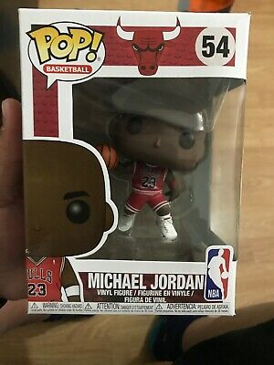Funko Pop NBA Micheal Jordan #54  Basketball Chicago Bulls READ DES