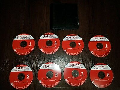 McGraw-Hill Itailian With Michel Thomas By Michel Thomas CD 1-8 Set With Case