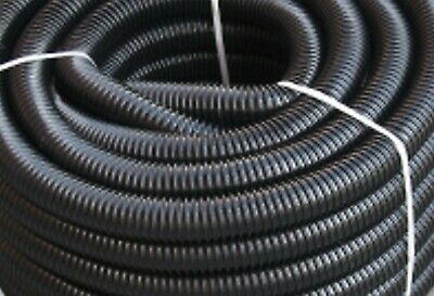 black Corrugated Flexible PVC Pond Hose,Fish,Filter,Pump 32mm, QUALITY ASSURED!