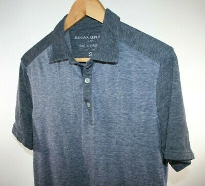 c4a98b0926c4 Mens Banana Republic Short Sleeve Polo Navy Shirt