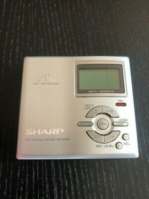 Sharp Portable MD Recorder/Player MD-DR7-S