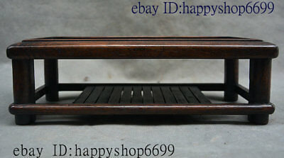China Old Huang Huali Wood Hand-Carving Tea table Kang Table Coffee table Teapoy