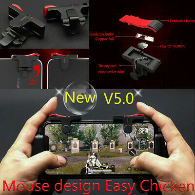 1pair MobilePhone Shooting Game Trigger L1R1 PUBG Shooter Controller Fire Button