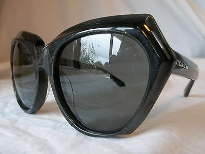 Coach Sunglasses Hc8193 542487 Dark Gray Glitter 55-19-140 New & Authentic