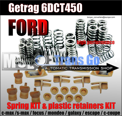 Spring and plastic retainers KIT ,6DCT450,DCT450,Wet clutch,Powershift