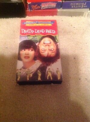 Drop Dead Fred Vhs Tape Video 1991 Phoebe Cates,rik Mayall Norental Very Rare