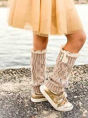 Adorable Leg Warmers for Girls (2-10) Perfect with Any Outfits for Any Occasion