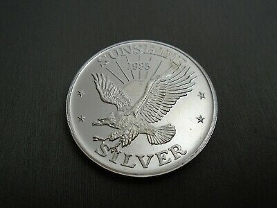 One Troy Ounce .999 Silver Coin -  Sunshine Minting #v7-B