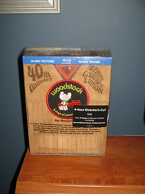 Woodstock Three Days of Peace Music Collector Piece Edition #15795 of 140000 New