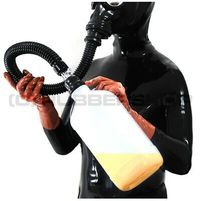 Deluxe Inhaler System Silent For Gas Mask Fetish Latexmask Catsuit Gloves Body