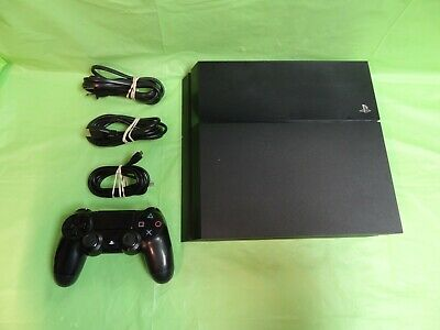 Sony Playstation 4 Original Cuh-1115A 500Gb Video Game System Console - Black ~