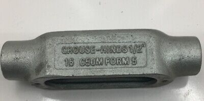 """CROUSE-HINDS LL150M CONDUIT BODY 1 1//2/"""" PLUS COVER"""