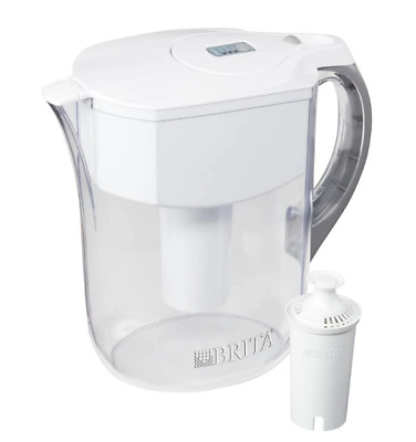 35938 Stainless Steel 42632 4-Pack Pitcher Water Filter for Brita Atlantis
