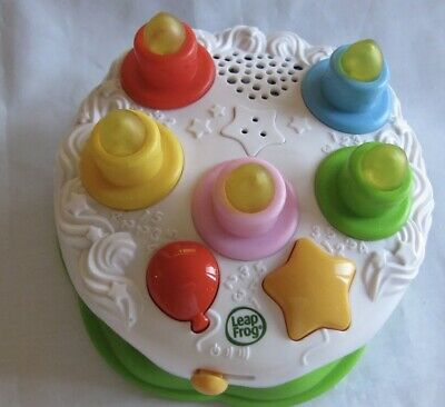 LEAPFROG COUNTING CANDLES Birthday Cake Pretend Play Food