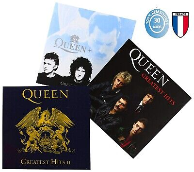 *LOT CD Queen Greatest Hits I II III - Platinum Collection CD Neuf sous Blister*