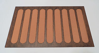 Reproduction Wood Grained Edison Amberola 30 X Cylinder Phonograph Front Grill