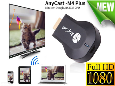 Anycast M4 Plus Chromecast HD 1080p Tv-Stick Kabellos Wifi Display Dongle Ios