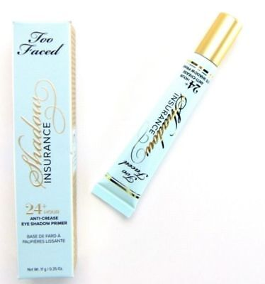 Too Faced Shadow Insurance 24Hr Anti-Crease Eyeshadow Primer. Full Size 0.35oz.