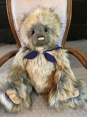 "Skipper Charlie Bears 2019 Plush * 24"" New With Tags"