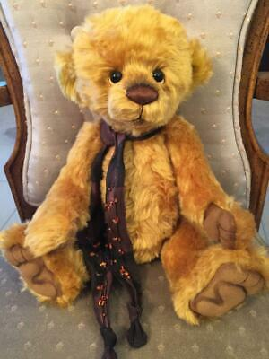 Manufactured Charlie Bears Wiggy 2013 Isabelle Mohair Collection Free Us Ship