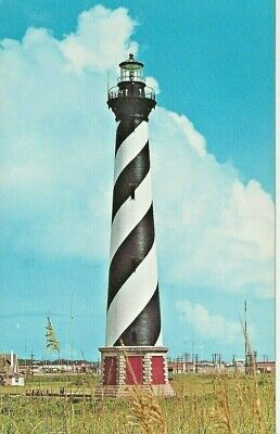 Postcard - NC - North Carolina - Lighthouse Outer Banks Beach Ocean - Unposted